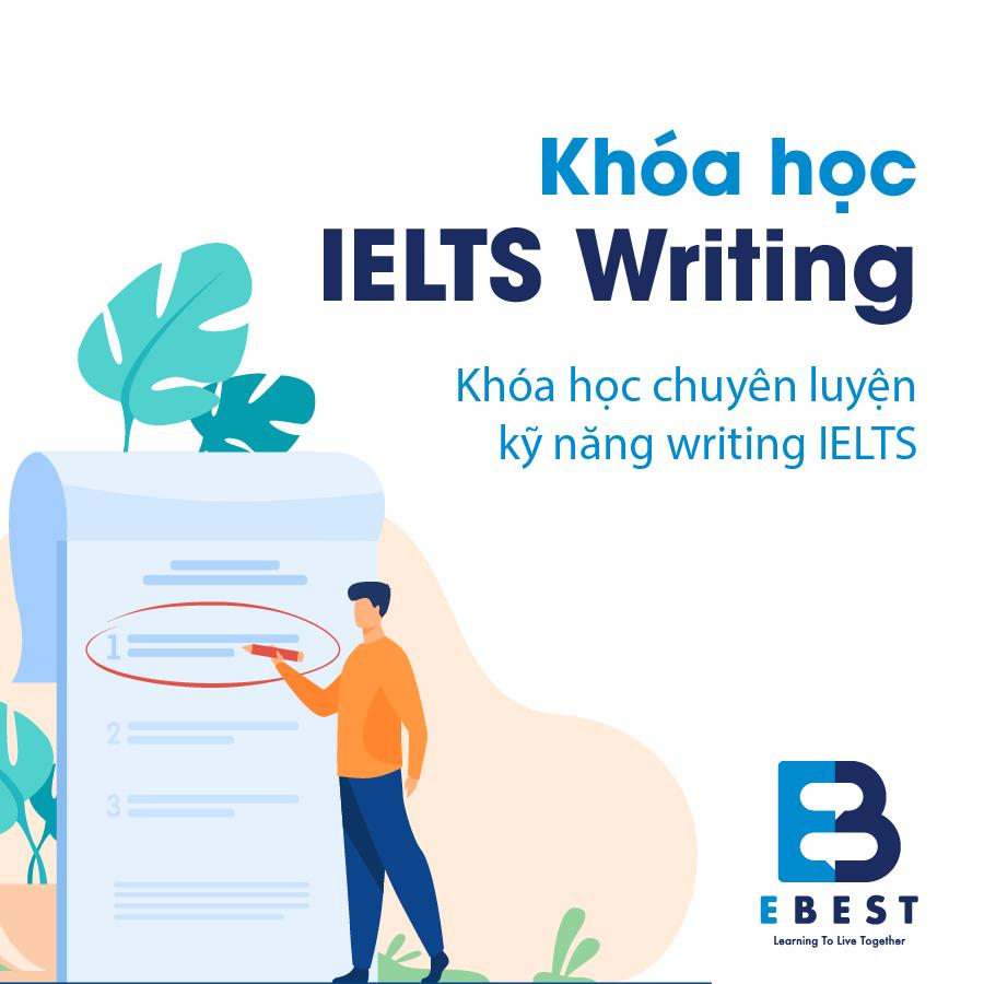 IELTS Writing_Khoá học IELTS chuyên luyện kỹ năng writing