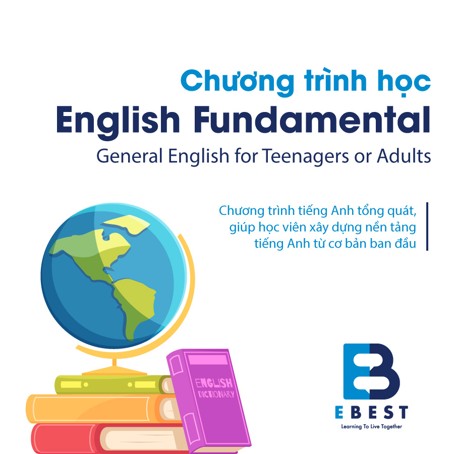 English Fundamental – General English for Teenagers or Adults